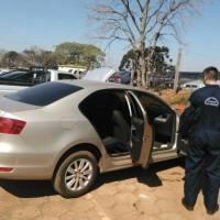 Auto relacionado a una estafa en Oberá fue secuestrado en Irigoyen