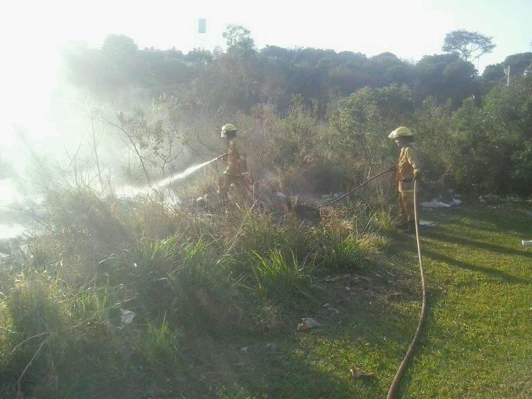 Intenso calor generó varios incendios forestales y enviviendas