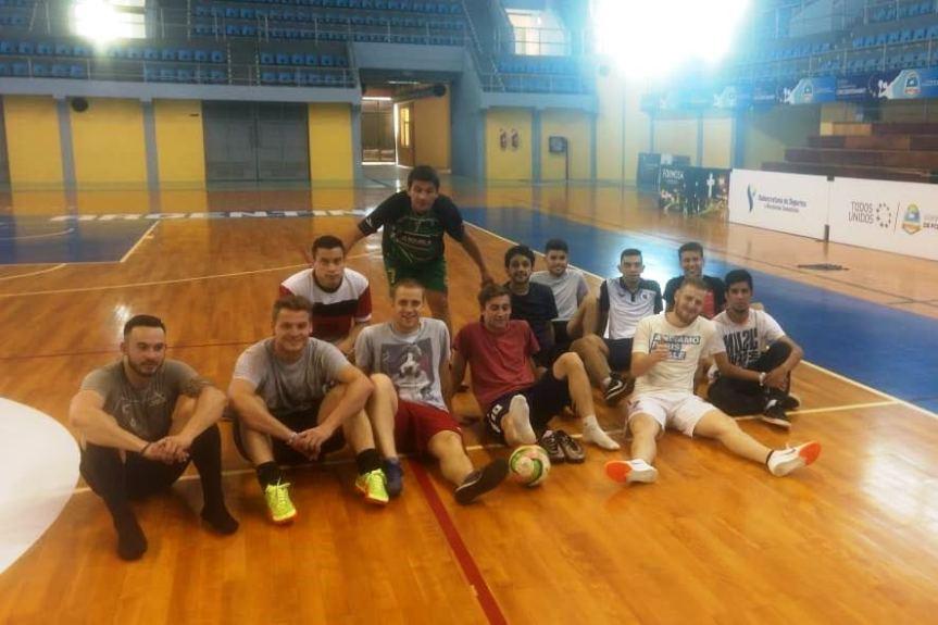Equipo de futsal obereño en Formosa para disputar la instanciaRegional