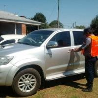 Incautaron una camioneta con pedido de secuestro por varios ilícitos