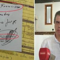 Pedidos de favores de Chaves al Juez de Faltas por multas de tránsito