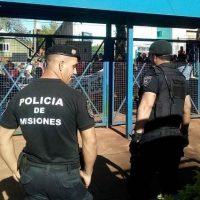 Fuerte custodia policial en la municipalidad, presiones políticas del PAyS detrás de las usurpaciones de tierras