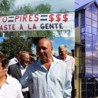 """""""Una valija con un millón de razones""""; Luis Pires anticipó su candidatura a gobernador"""