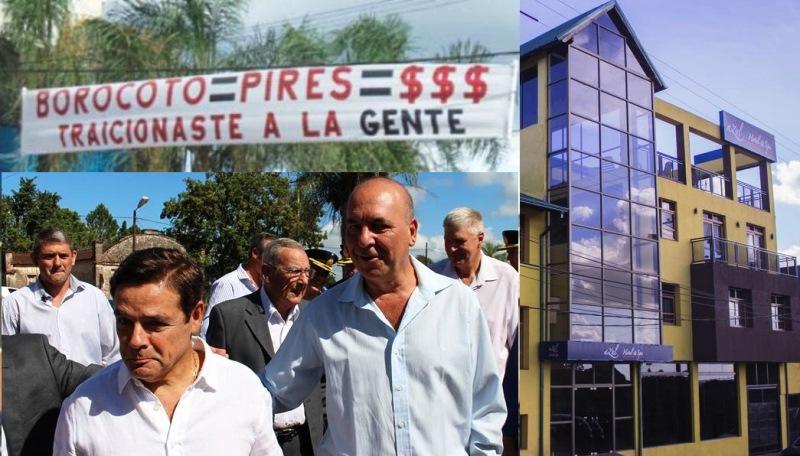 """""""Una valija con un millón de razones""""; Luis Pires anticipó su candidatura agobernador"""