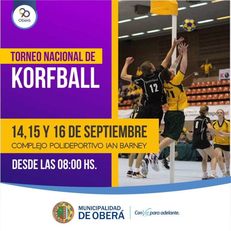 "Torneo Nacional de Korfball ""90 añosOberá"""