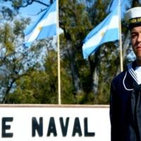 """Egresó como marinero un joven de Campo Viera: """"Las enseñanzas que te dan en la Armada te sirven como militar y como persona"""""""