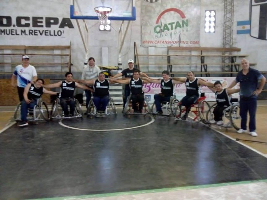 La Selección Misionera de Basquet Adaptado realizará un partido deexhibición