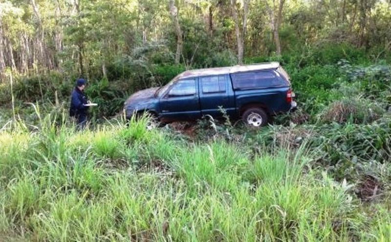 Camioneta despistó en la ruta5