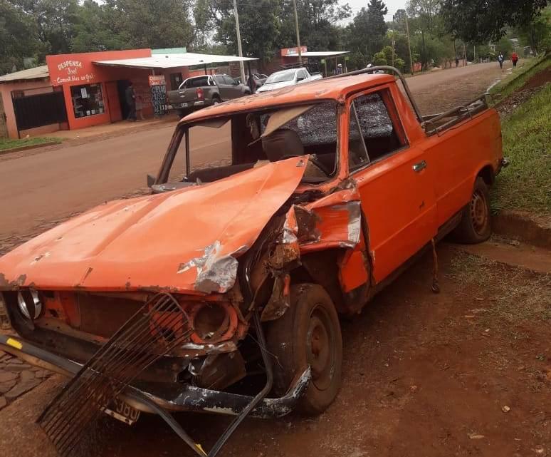 Motociclista colisionó con una camioneta en avenida YerbalViejo