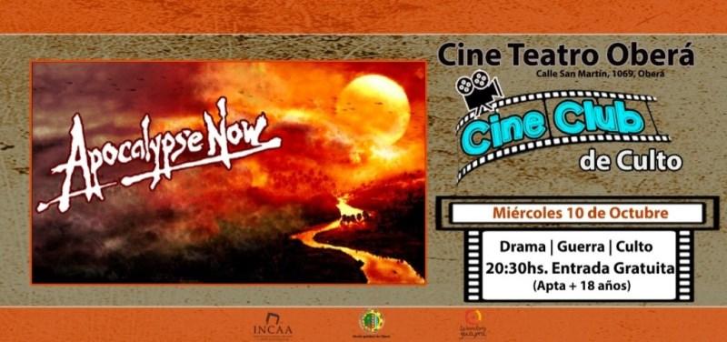 """""""Apocalypse Now"""" en cine club, entradagratuita"""