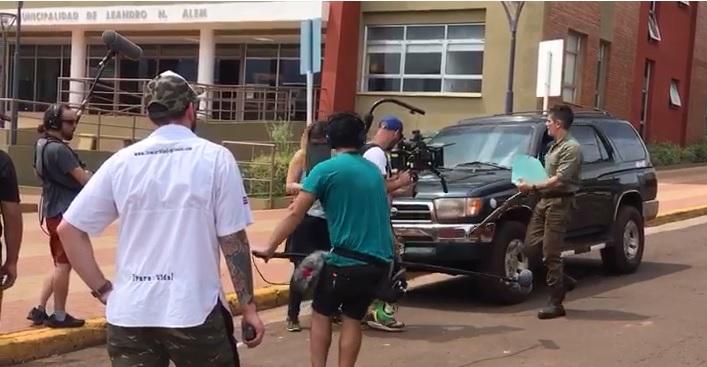 """Pablo Echarri comenzó a filmar """"El silencio del Cazador"""" enAlem"""
