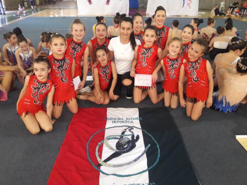 Excelente participación de gimnastas obereñas enAlem