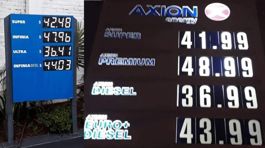Octubre comenzó con aumentos en YPF, Shell y Axión hasta10%