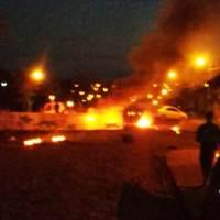 Tareferos queman gomas frente a la comisaría para que liberen a Silva
