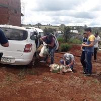 Incautaron un vehículo narco brasileño repleto de marihuana