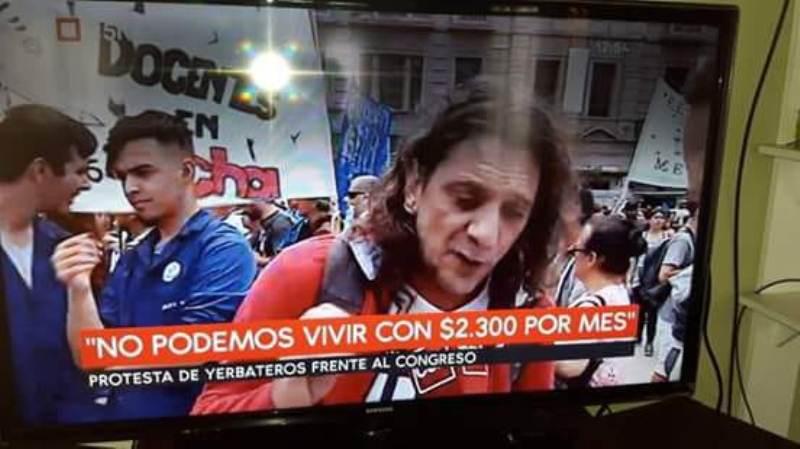 """Pedrozo afirmó que Passalacqua puso dos colectivos para llevar tareferos a la protesta en Buenos Aires, Sereno apareció como """"trabajador yerbatero"""""""