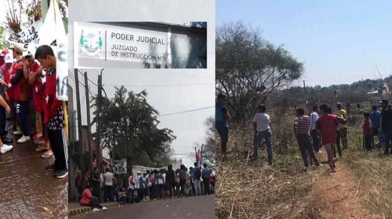 Insólito: Gauchat le pide a los dueños de las tierras tomadas que averigüen nombres de losusurpadores