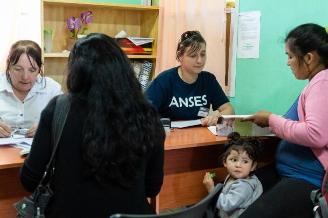 Delegaciones de Anses, Pami y Desarrollo Socialhoy en VillaBonita