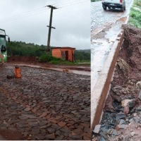 """Peligro de derrumbe en avenida Yerba Viejo por la erosión:""""reclamé a la municipalidad y no tuvimos respuesta"""""""