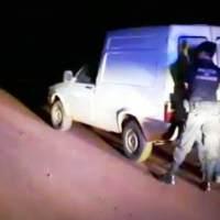Padre e hijo alcoholizados fueron detenidos tras cinematográfica persecución en la ruta 14