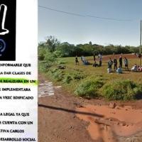 Vecinos molestos con la insistencia del FOL de usurpar un espacio verde en barrio Esperanza