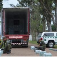 Camión de encomiendas que salió de Misiones fue interceptado con 64 kilos de marihuana