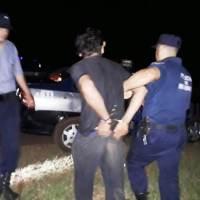 Recuperan objetos robados en una metalúrgica en el km 28, un detenido