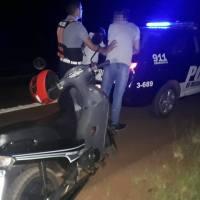 Motociclista alcoholizado realizaba maniobras peligrosas en la ruta 14 y terminó detenido