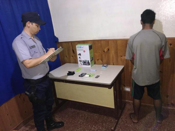Recuperaron insumos informáticos robados a un comercio y detuvieron a unjoven