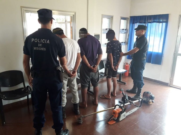 Tres detenidos por el robo a una iglesia de ColoniaParaíso