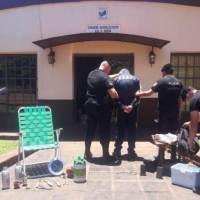 """Detienen al """"Chino"""" en Villa Ruff y recuperan objetos robados"""