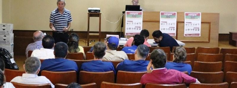 Articulan tareas de prevención de vectores entre el municipio y SaludPública