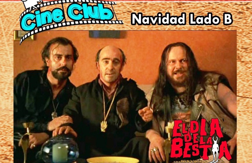 """Cine Club: """"Proyecto Cerbero"""" con charla abierta y """"El día de la Bestia"""" con accesogratuito"""