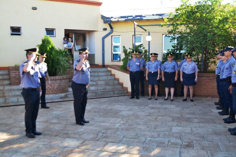 Asumieron nuevos jefes en las comisarías de la Unidad RegionalII