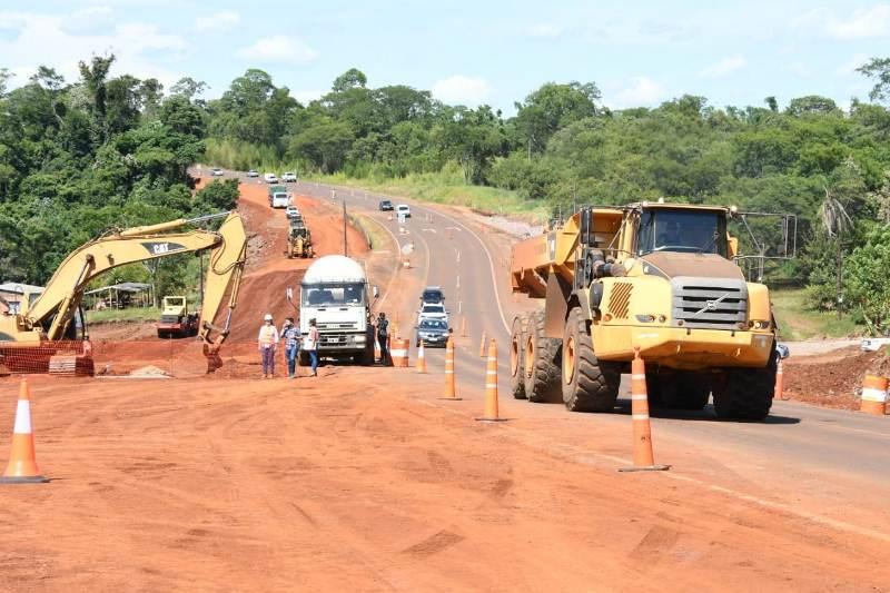 La EBY avanza en las obras de la autovía entre Santa Ana yLoreto