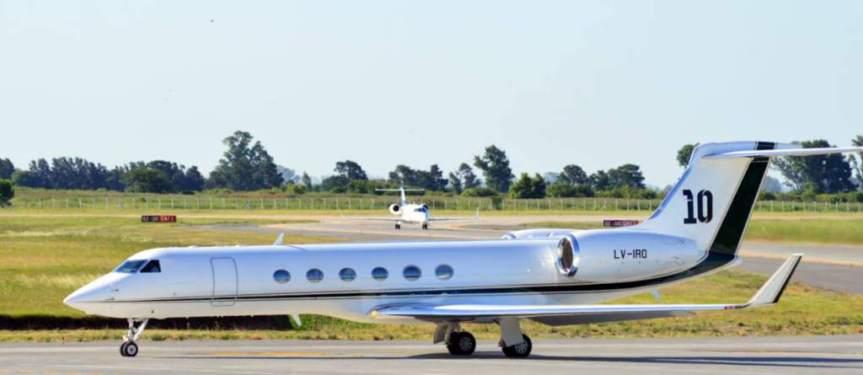 El nuevo lujo de Messi: un avión de 15 millones dedólares