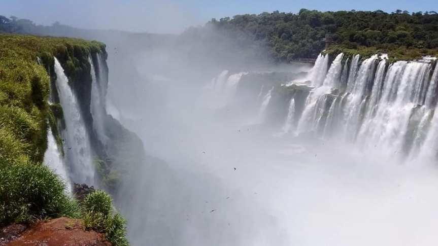 Iguazú se declarará en estado de alerta y rechaza la instalación de hoteles enCataratas