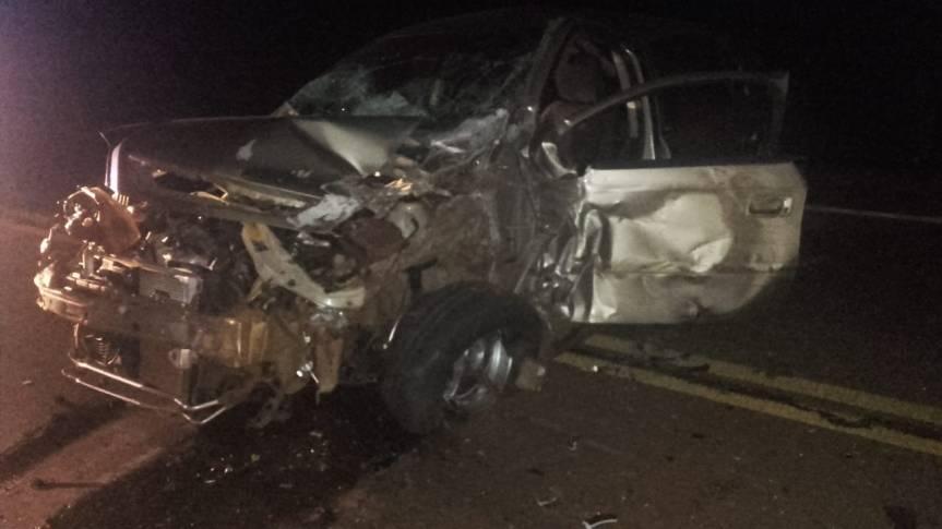 Automovilista alcoholizado chocó contra un camión en la ruta 14 y terminódetenido