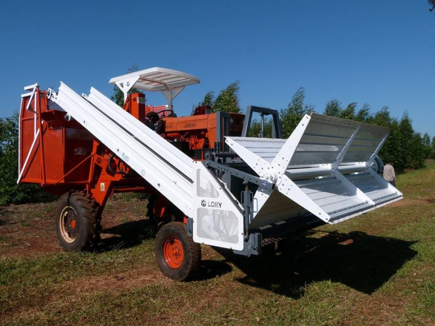 Lory desarrolló una cosechadora de yerba de hasta 2 mil kilos porhora