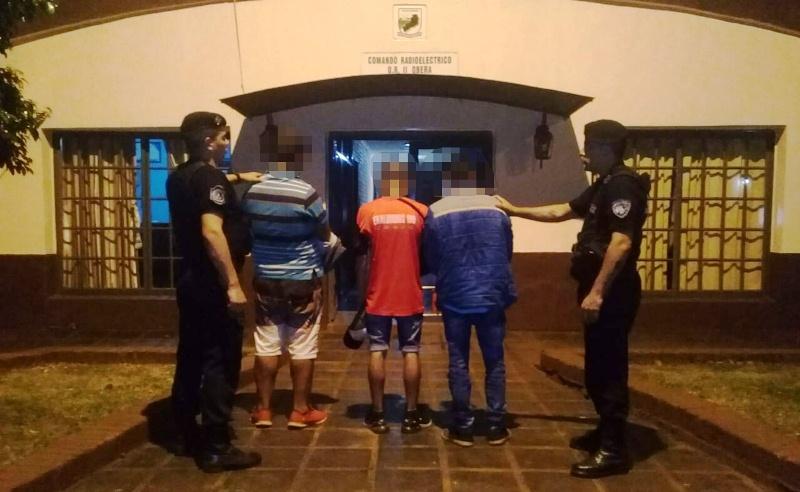 Detienen a tres sospechosos por intento de robo en una vivienda sobre calleBompland