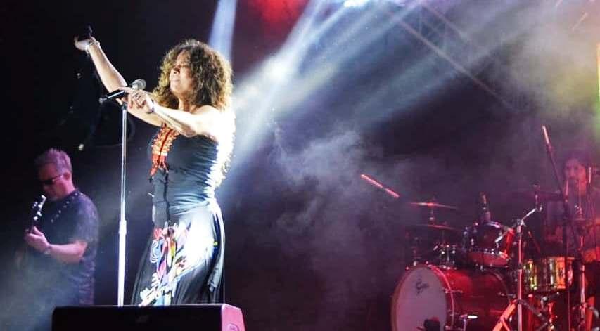 Emotivo show de Patricia Sosa en la Fiesta Nacional de laNavidad