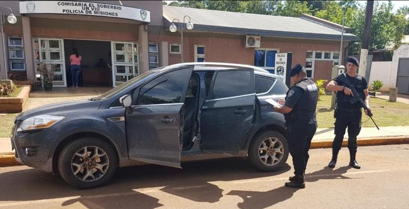 Cayó dúo que simuló el robo de un auto con finesfraudulentos
