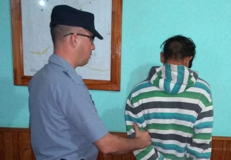 Joven fue detenido por robar herramienta de un predio municipal en Dos deMayo
