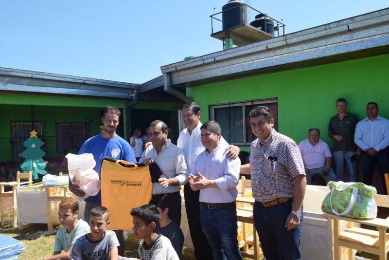 Inauguraron cuenca porcina y lechera; IPS entregó créditos por $1.300.000 a jubilados y pensionados de Campo Grande, Oberá, Campo Viera yAlem