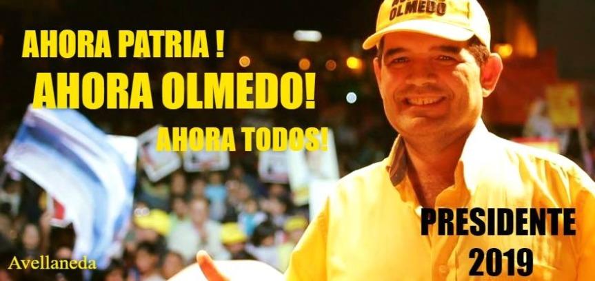 Obereños impulsan la candidatura de Olmedo apresidente
