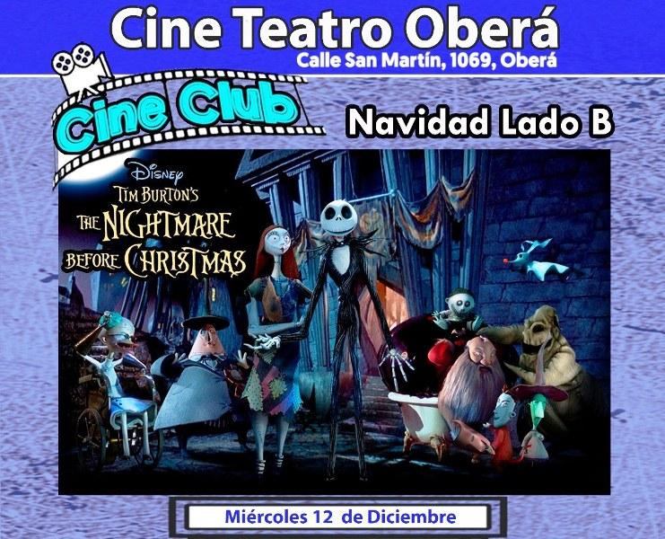 """""""La Pesadilla antes de la Navidad"""" en CineClub"""