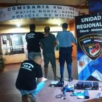 Forzaron una ventana y robaron en una casa del 180 Viviendas, un detenido