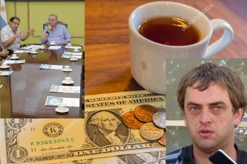 """""""La provincia solo cobra impuestos, no hace nada…En EE.UU un vaso de té vale USD 1,75 y acá nos peleamos por$1,25"""""""