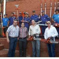 Subsidio de Nación permitió la entrega de herramientas para trabajo en espacios verdes