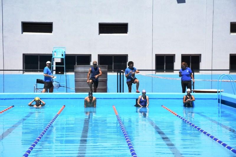 Torneo de Aquatlon con 50 atletas por el mes aniversario delOTC